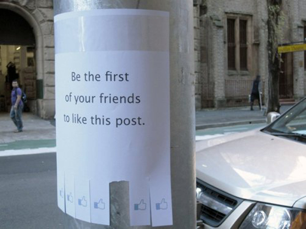 Funny hilarious street posters