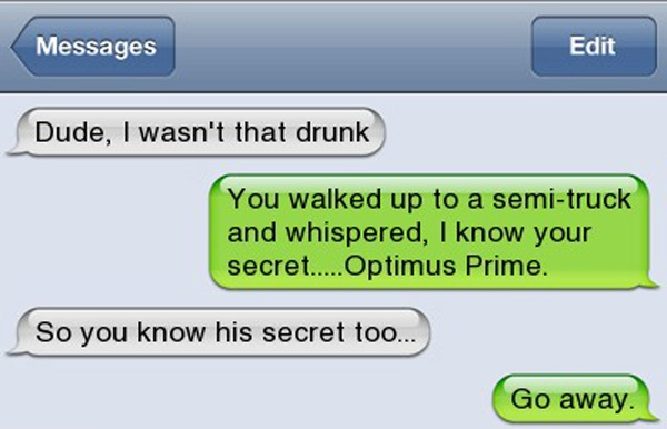 Auto Reply Text Message Iphone >> 15 Most Hilarious Drunk Text #10 is so funny