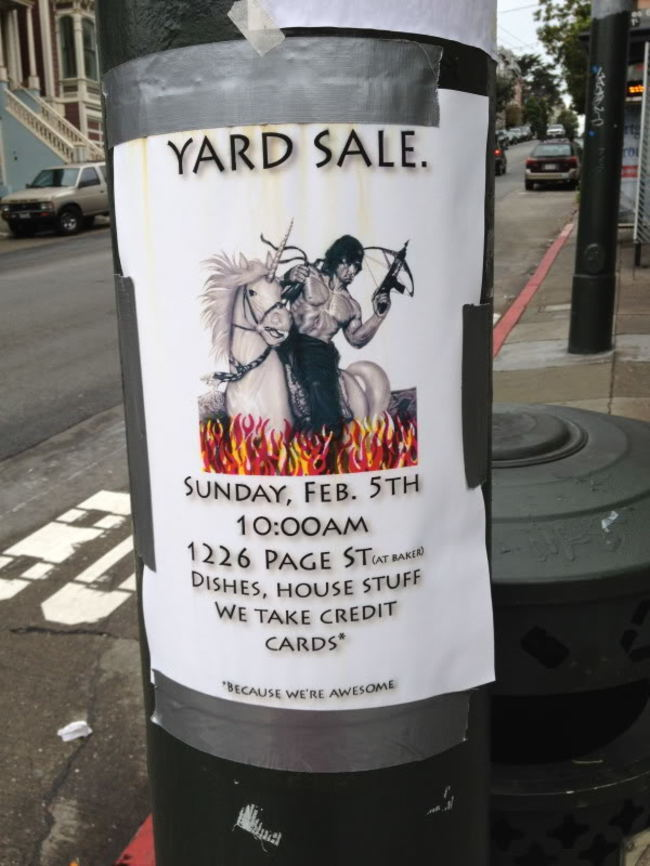 Funny Yard Sale Meme : Most hilarious garage sale signs no one can miss out